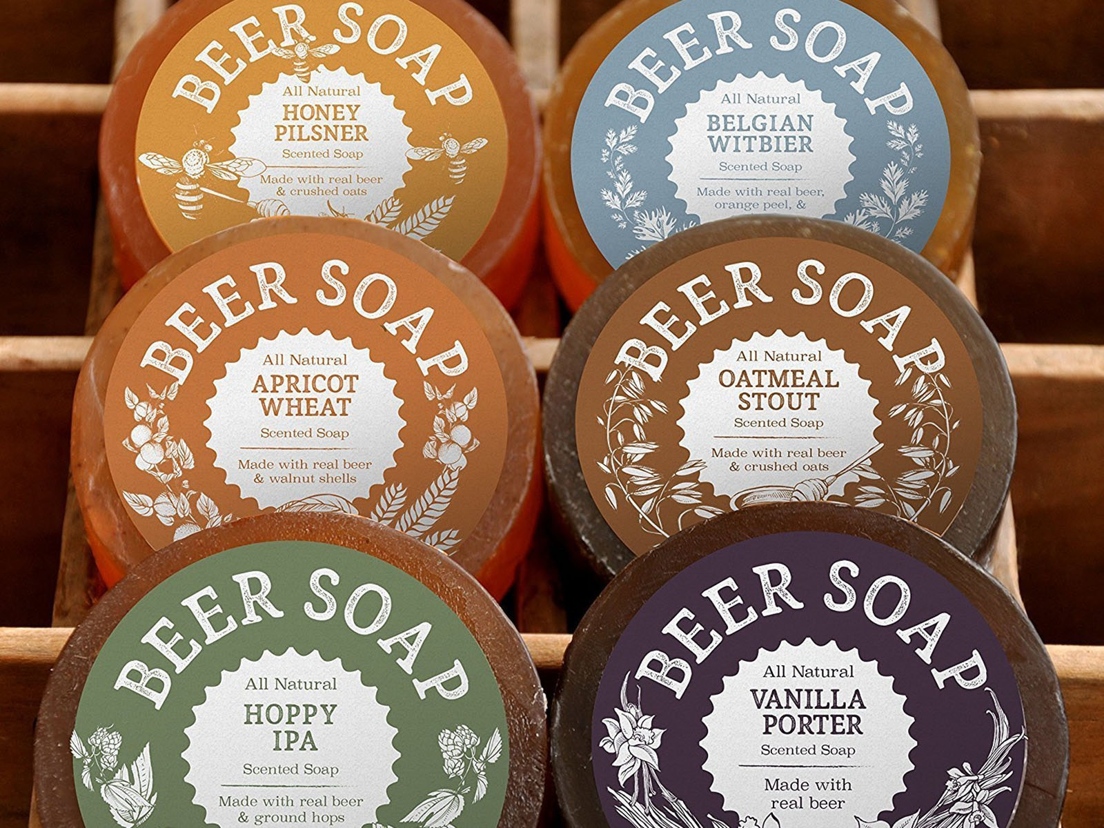 Beer-scented soap that's so fragrant you'll get thirsty in the shower