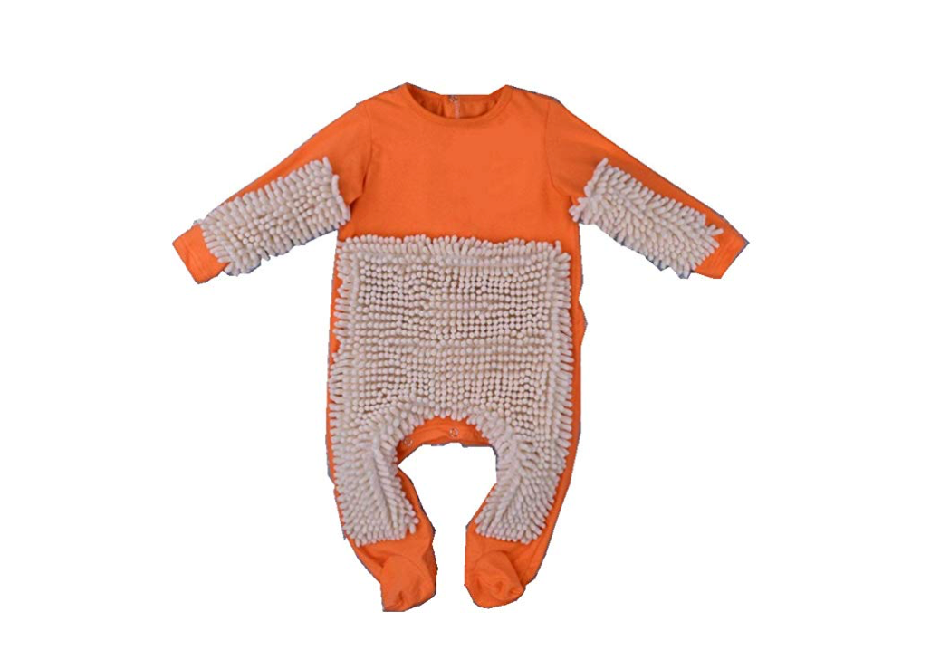 This romper that literally turns your baby into a mop
