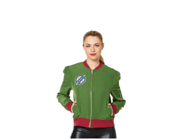 This jacket pulled straight from Boba Fett's closet
