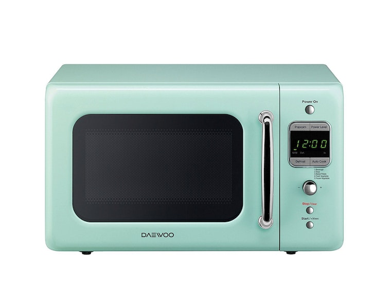 A delightful mint microwave