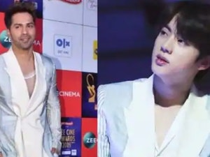 Zee Cine Awards Nominee Varun Dhawan Channels BTS Singer's Fashion
