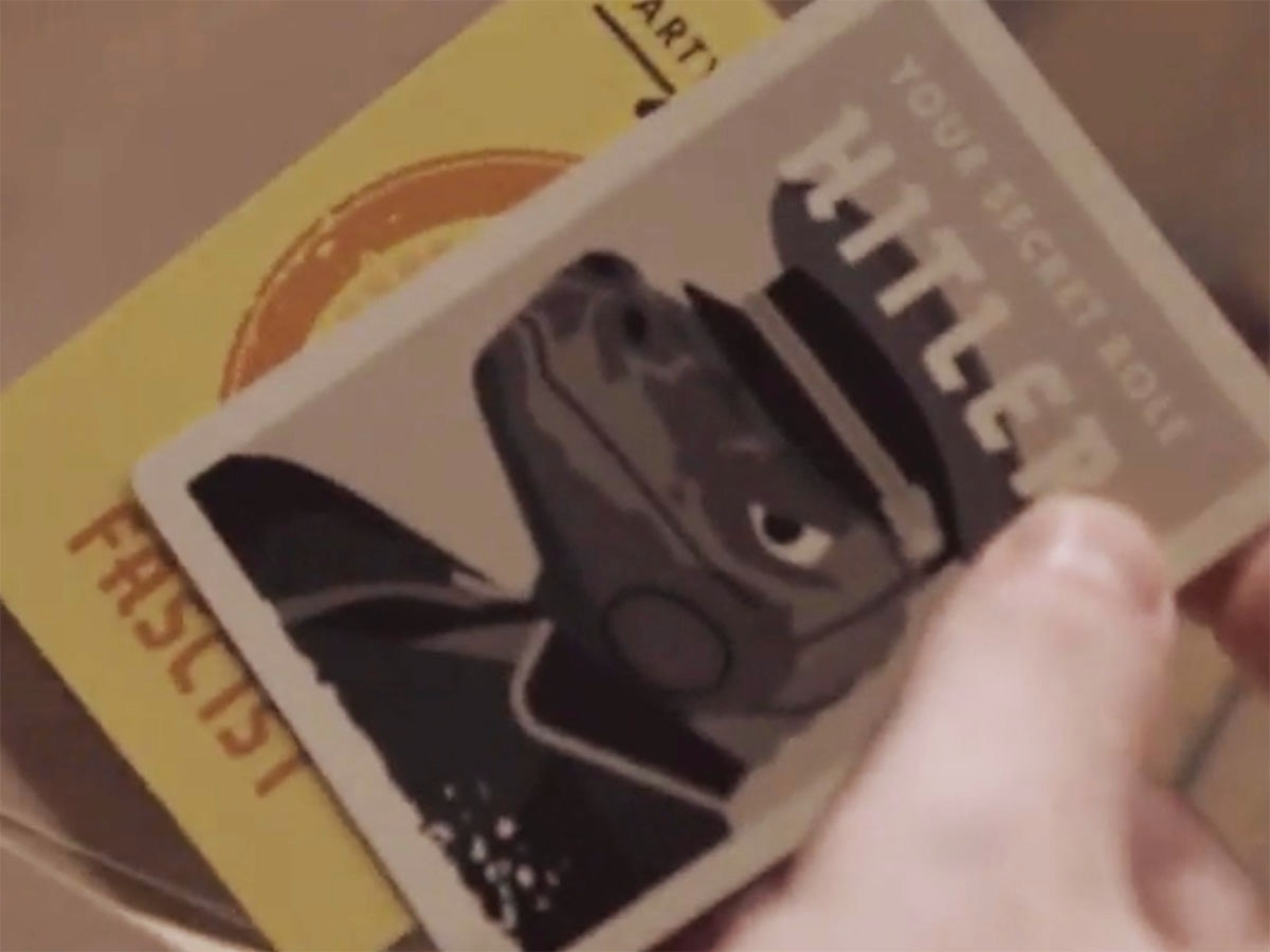 This addictive gamewhere you need to kill the Secret Hitler