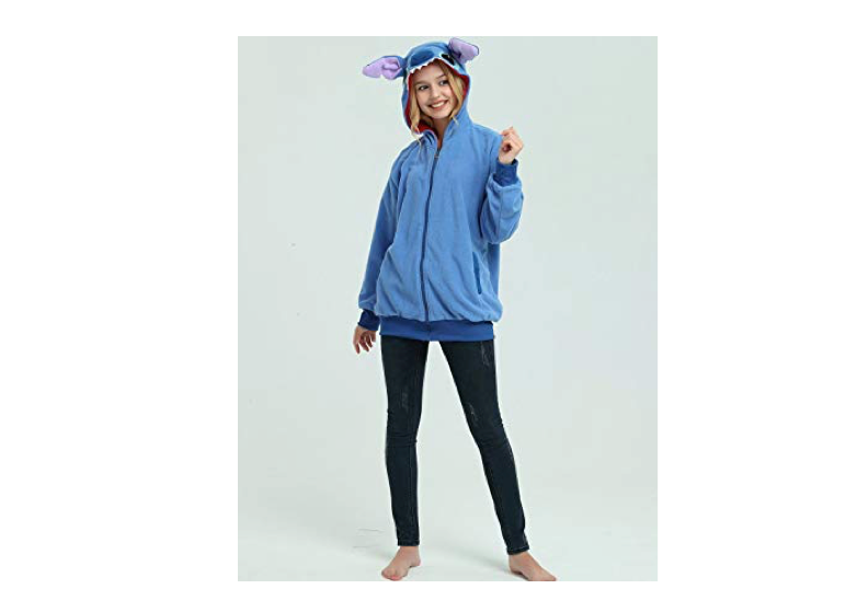 This adorbs Stitch character hoodie
