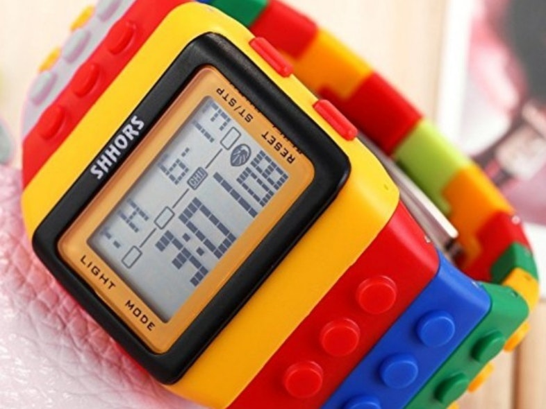 This blocky watch that you can build on