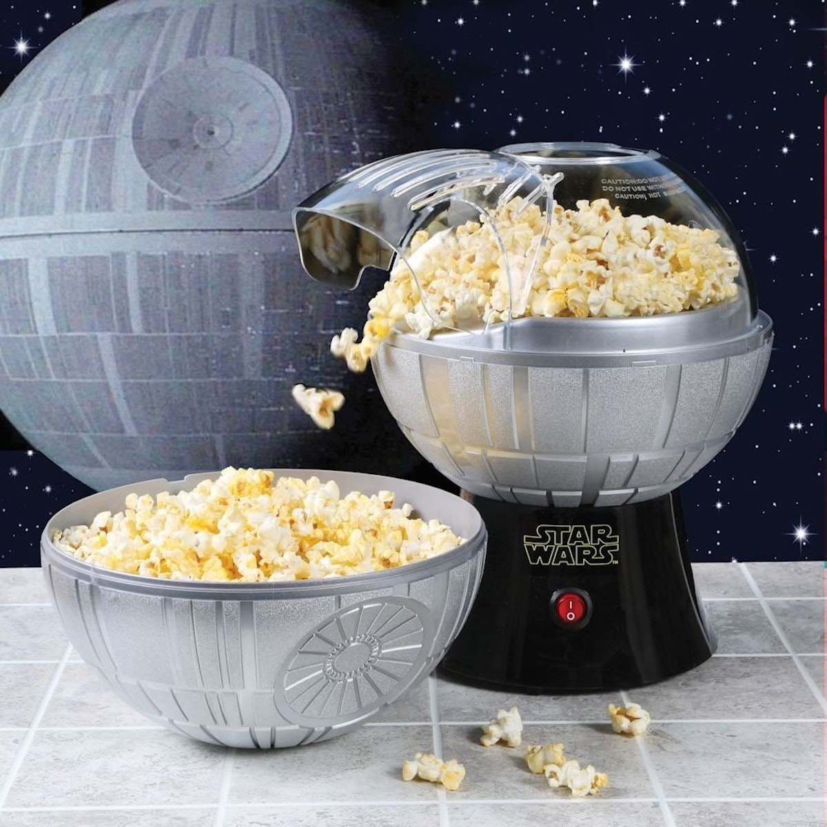 This Death Star popcorn maker