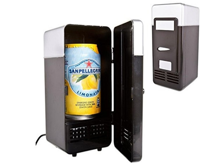 The world's smallest refrigerator