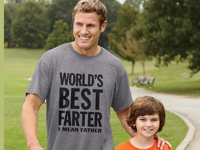 This classy T-shirt for classy dads