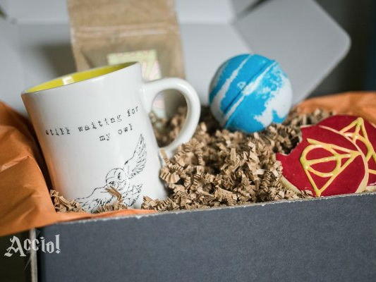 This magical subscription box for Harry Potter fans