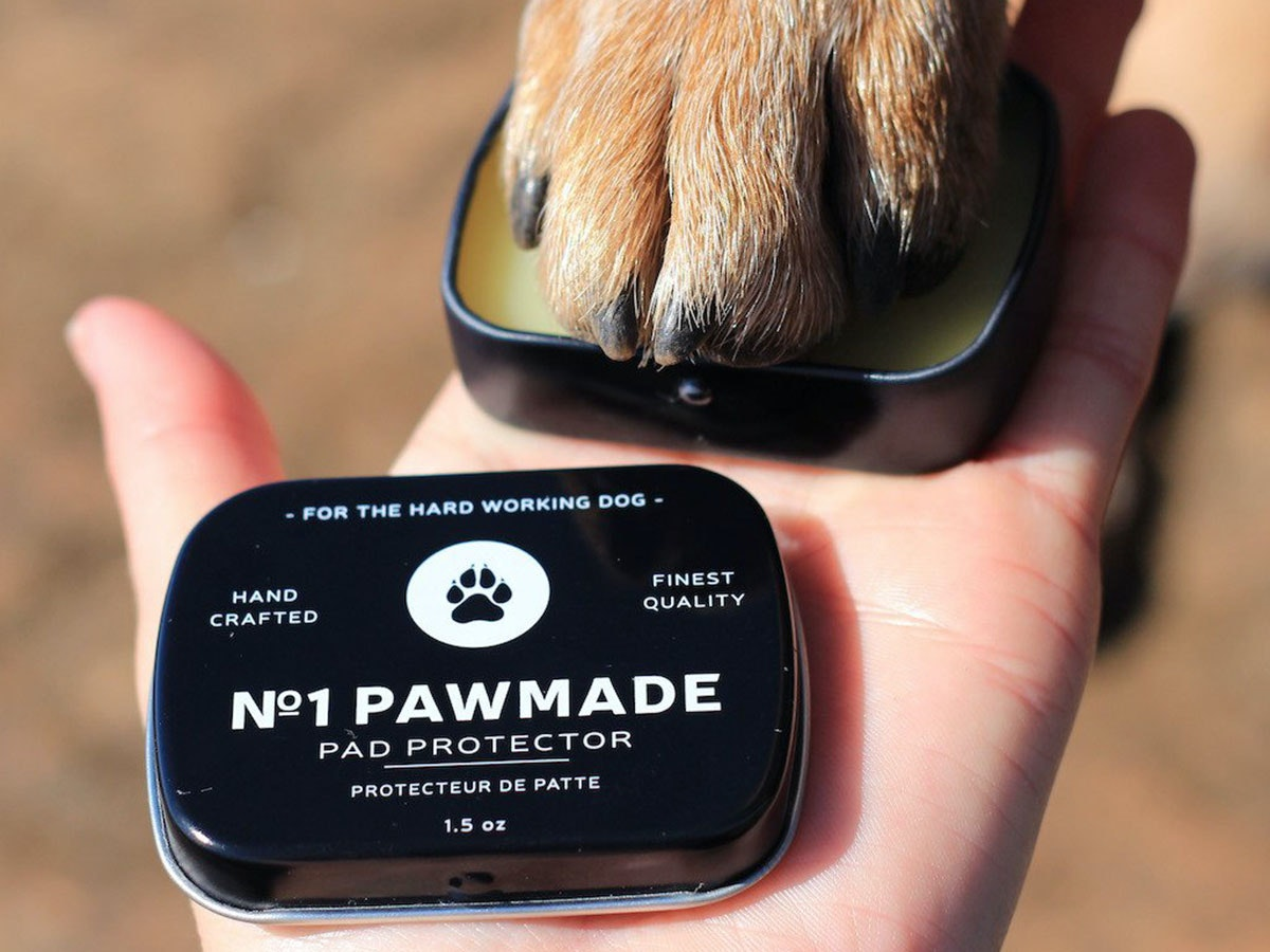 This artisinal balm to pamper paws