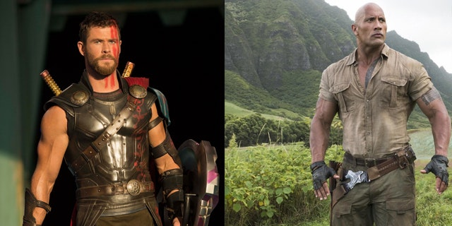 Is The Rock Versus Thor the Next Great Hollywood Rivalry?