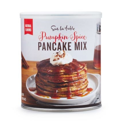 This pumpkin pancake mix for lazy fall mornings