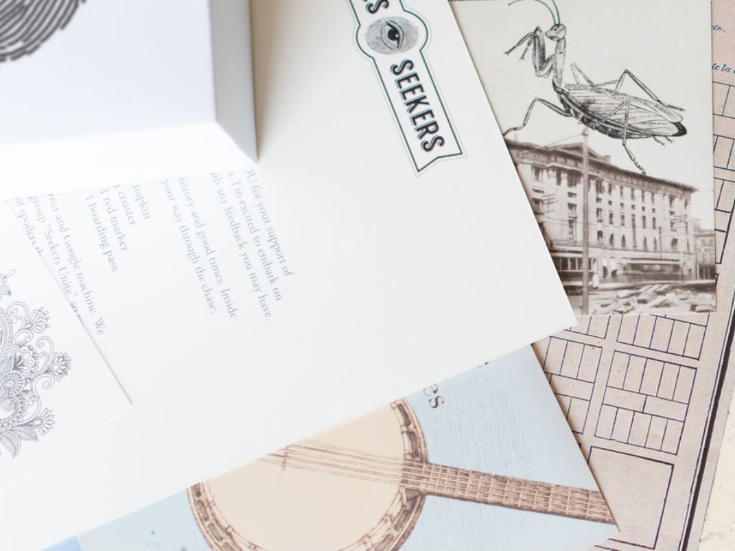 This scavenger hunt subscription box for intrepid sleuths