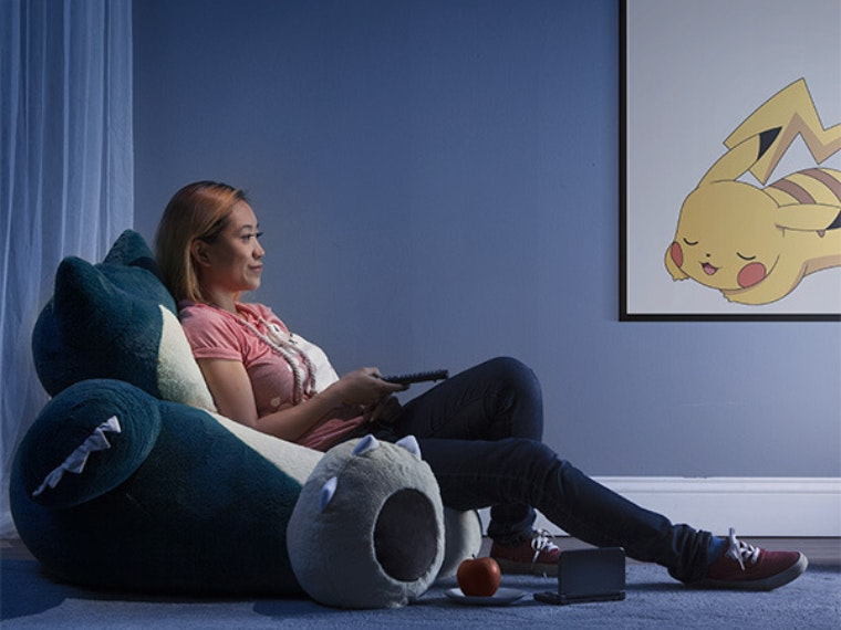 ThisPokémon beanbag chair that'll inspire you to catch all the Zs