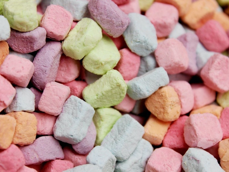This 8-pound bag of nothing but cereal marshmallows
