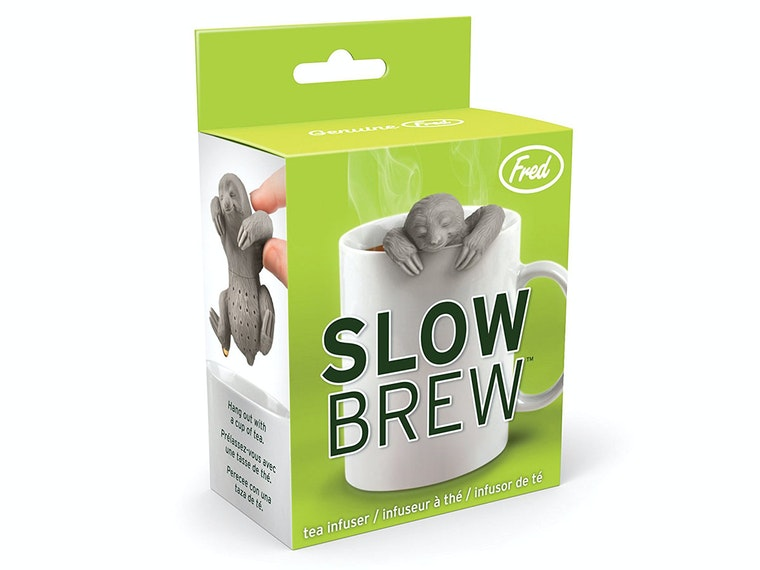 This sloth that makes some pretty good tea 🍵