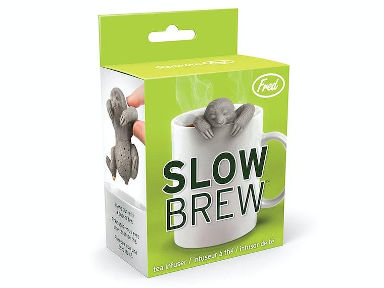 This sloth that makes some pretty good tea🍵