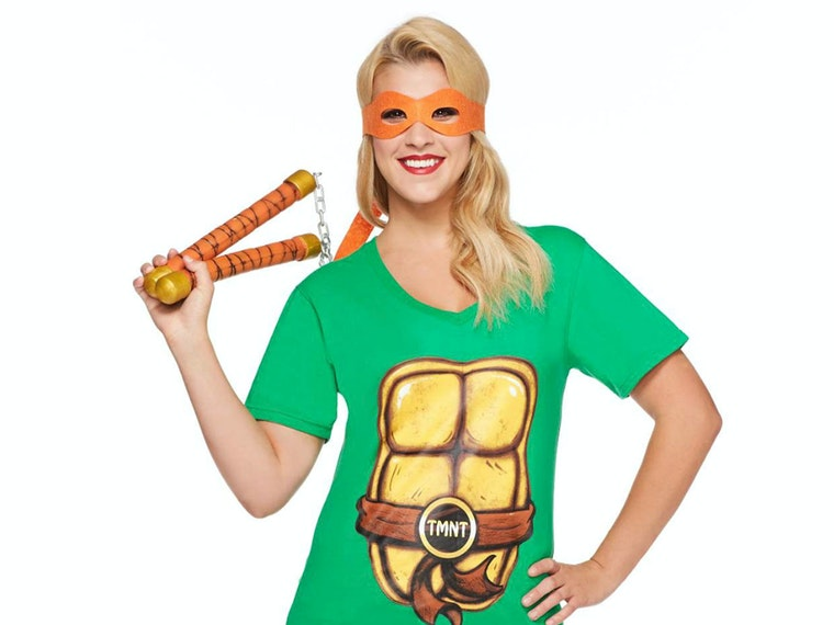 This awesome (yet easy) Teenage Mutant Ninja Turtle look 🐢🍕🐢🍕🐢🍕