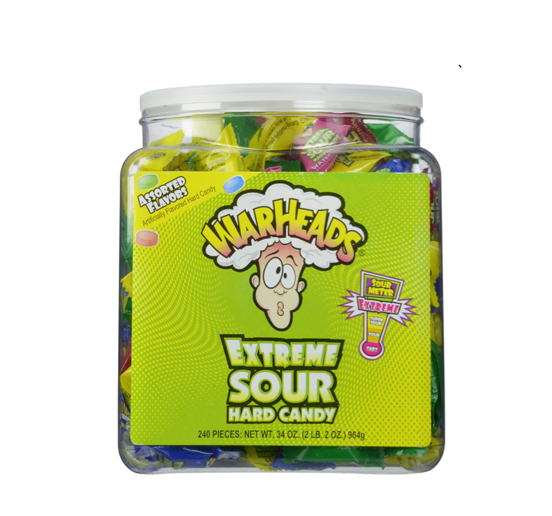This SUPER sour candy 👅