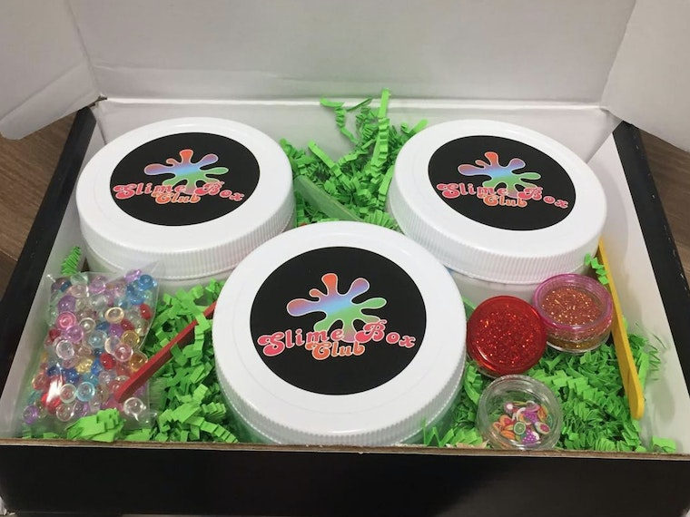 This box full of slime (and nothing but slime)