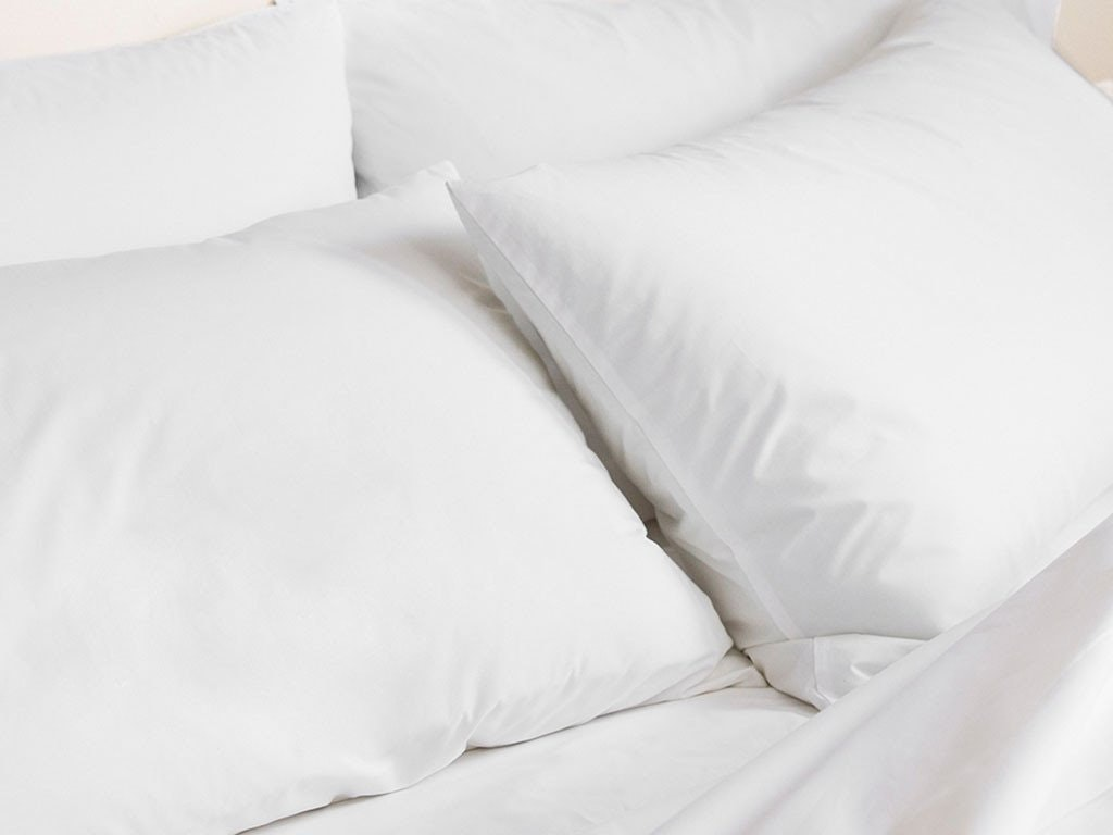 A down pillow option for stomach sleepers