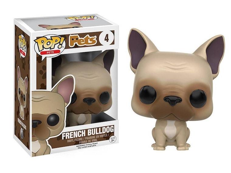 This trendy bulldog Funko figure