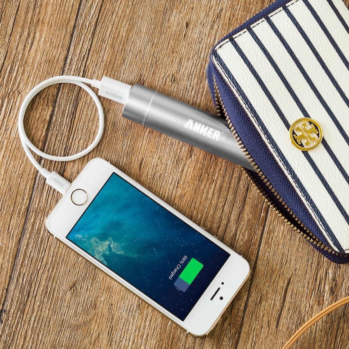 This ultra-portable charger for when your phone is at 1%