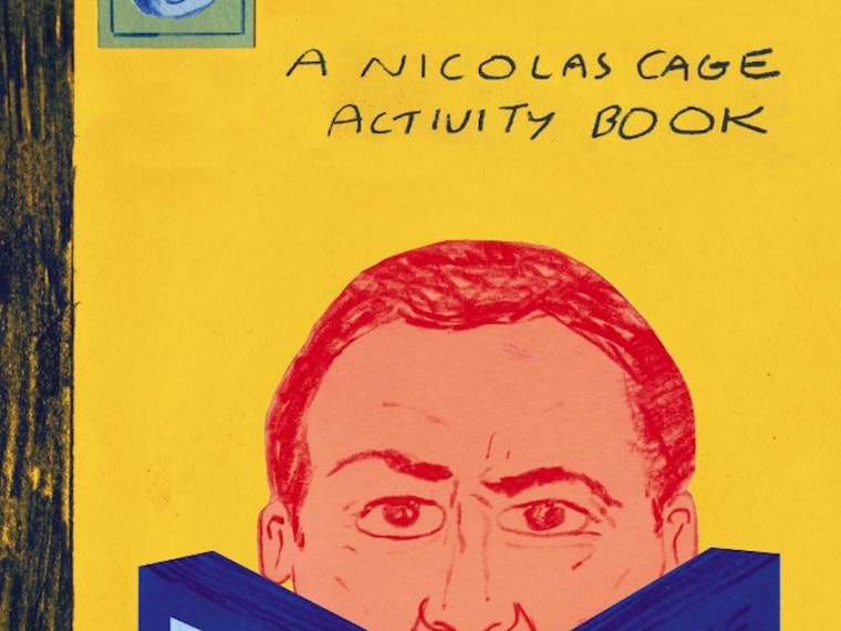 A Nicolas Cage activity book