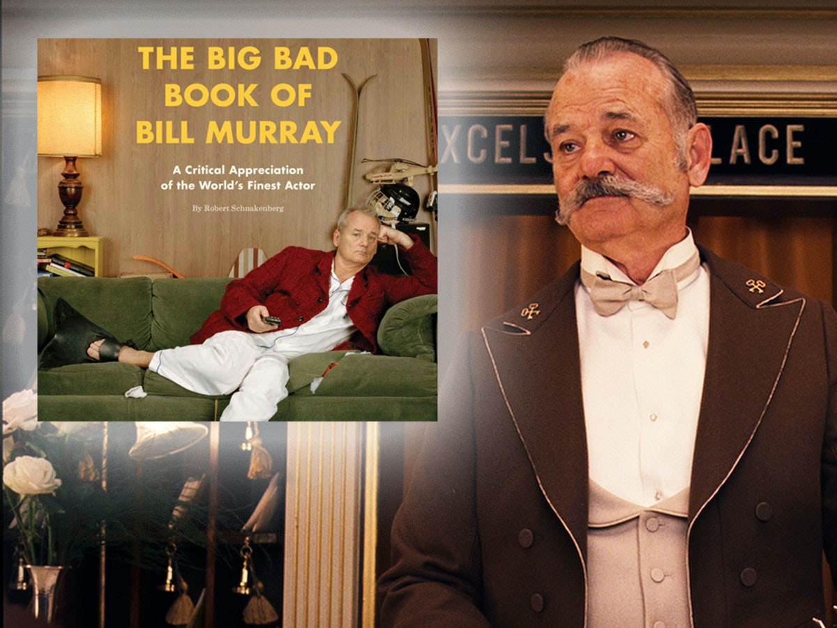 This book that has Bill Murray goin' for it, which is nice