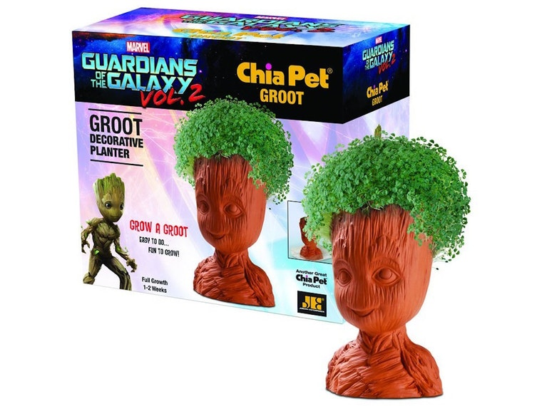 This Grow a Groot Chia Pet