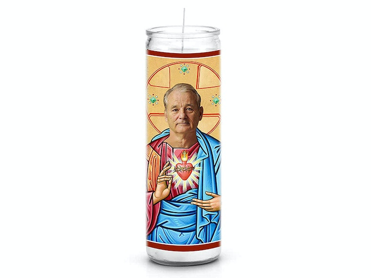 This prayer candle for dads who love Caddyshack