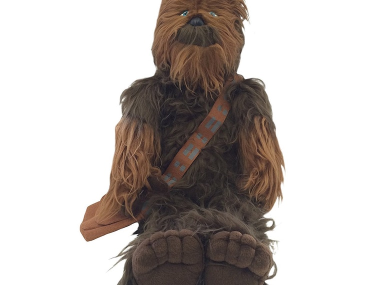 This Chewbacca pillow buddy for intergalactic cuddles