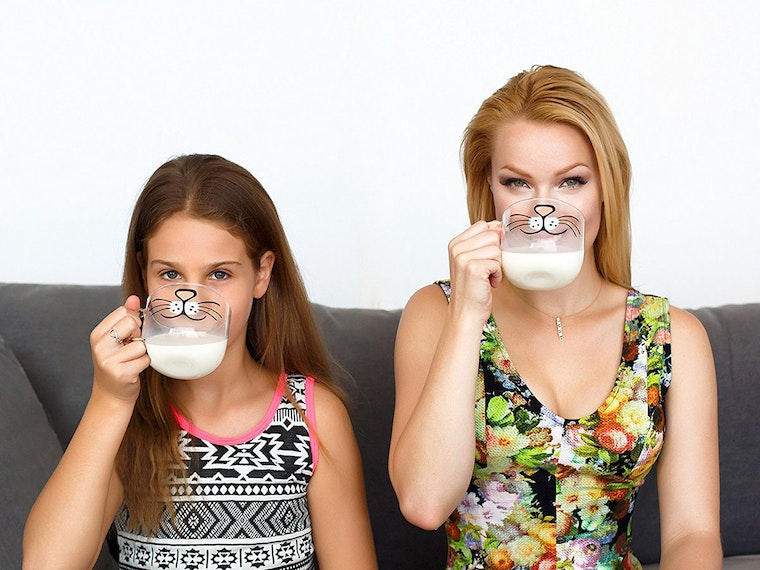 This cat face mug that's perfect for Instagramming