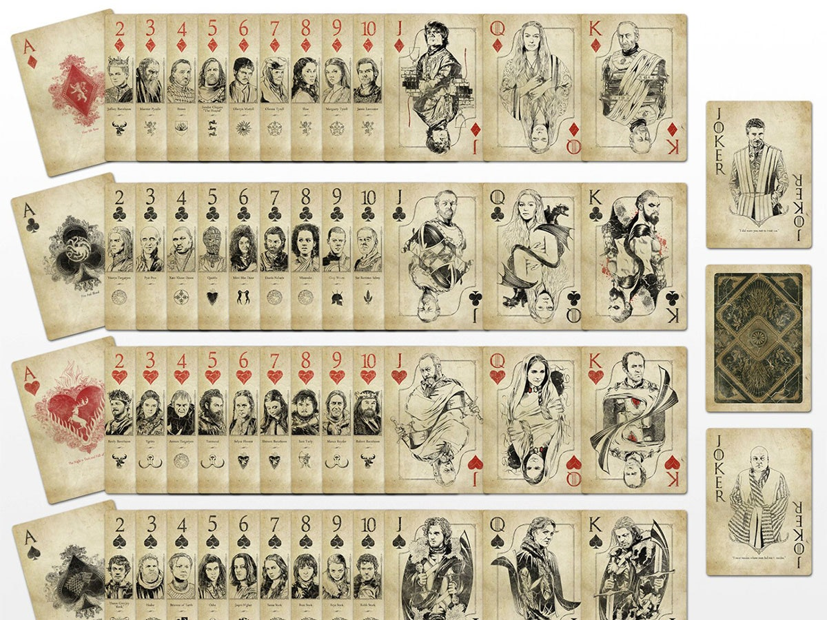 These GoT-inspired playing cards🃏