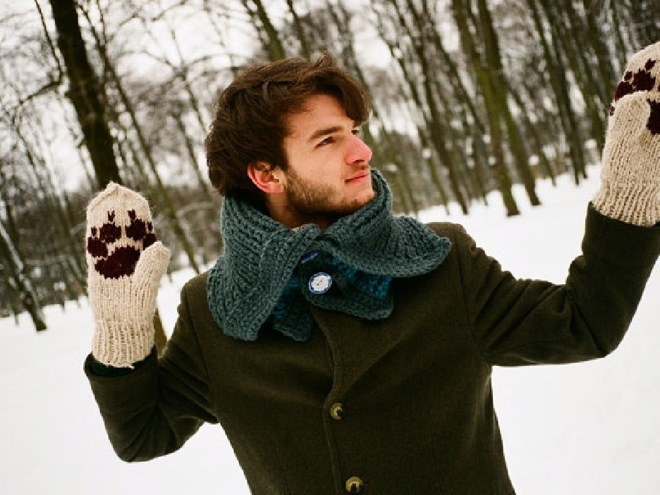 This pair of mittens that'll make you go