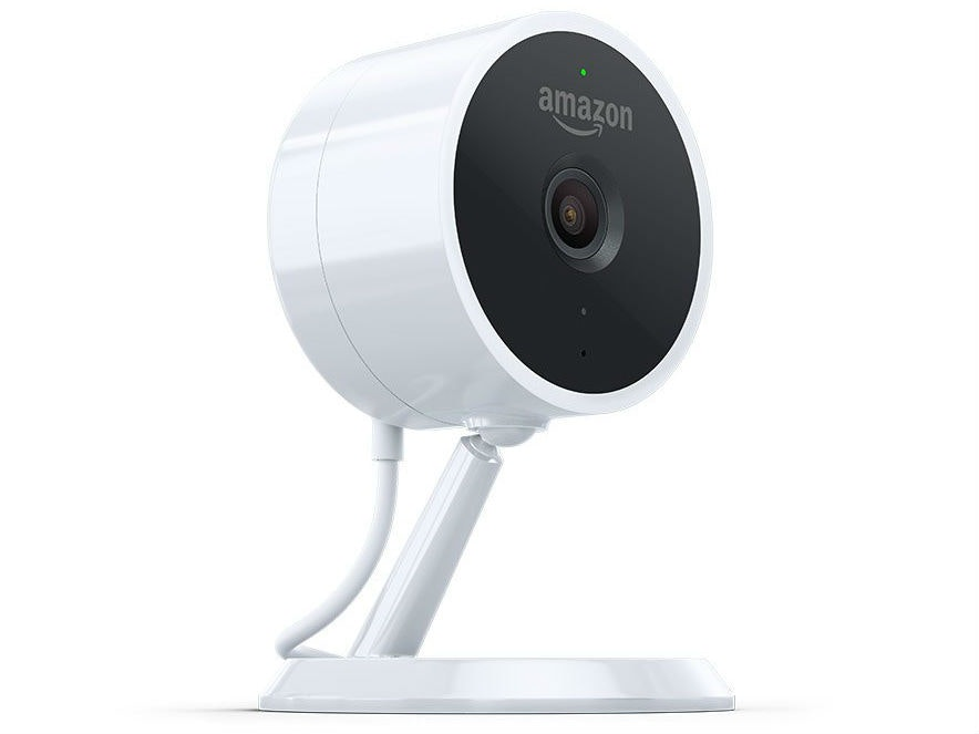 This Alexa-enabled security camera