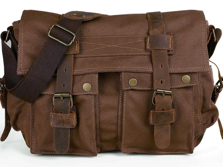 This stylish messenger bag that's way affordable