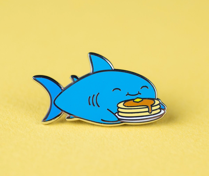 This shark with an interesting diet🥞