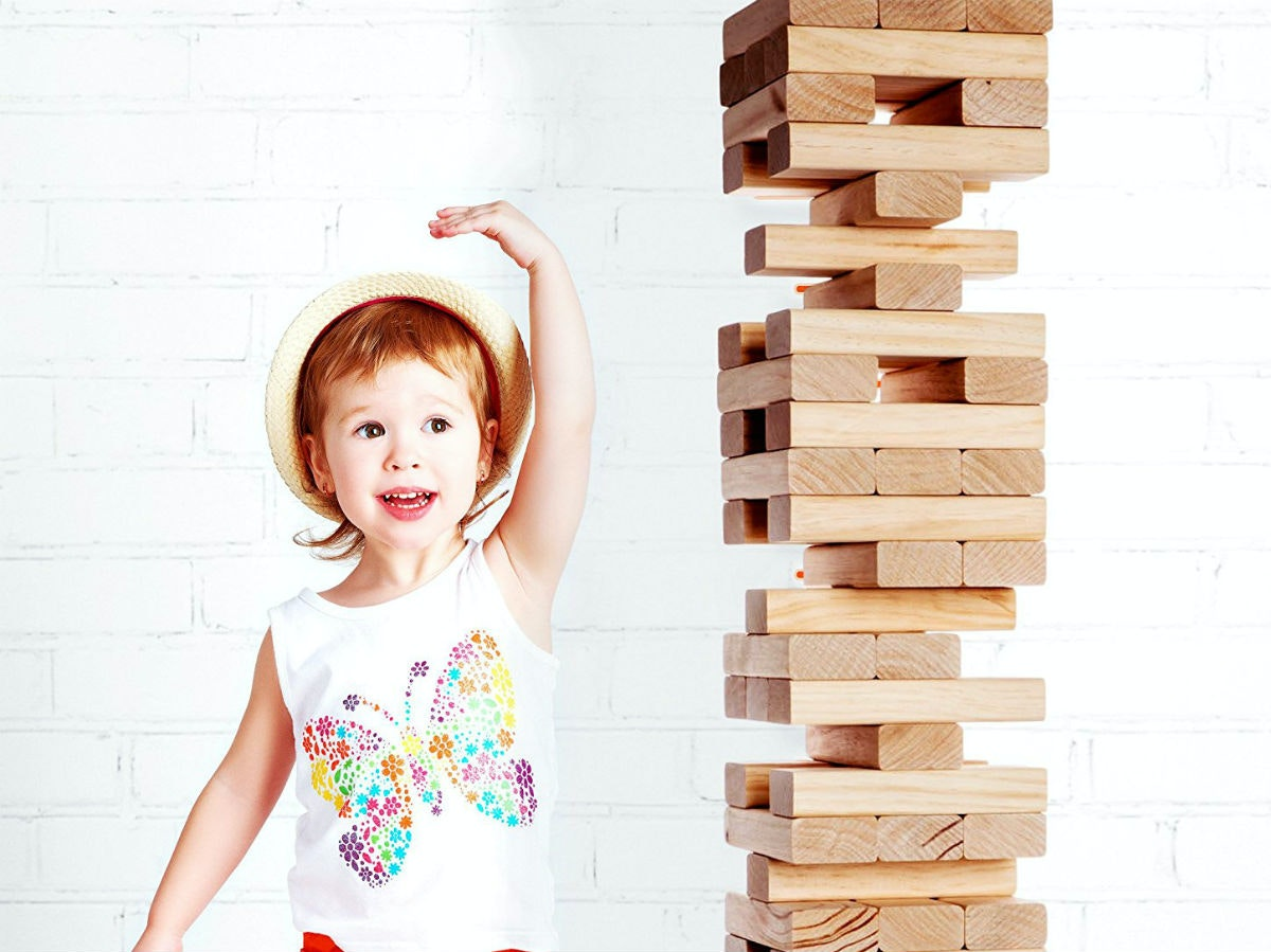 The biggest game of Jenga you'll ever play