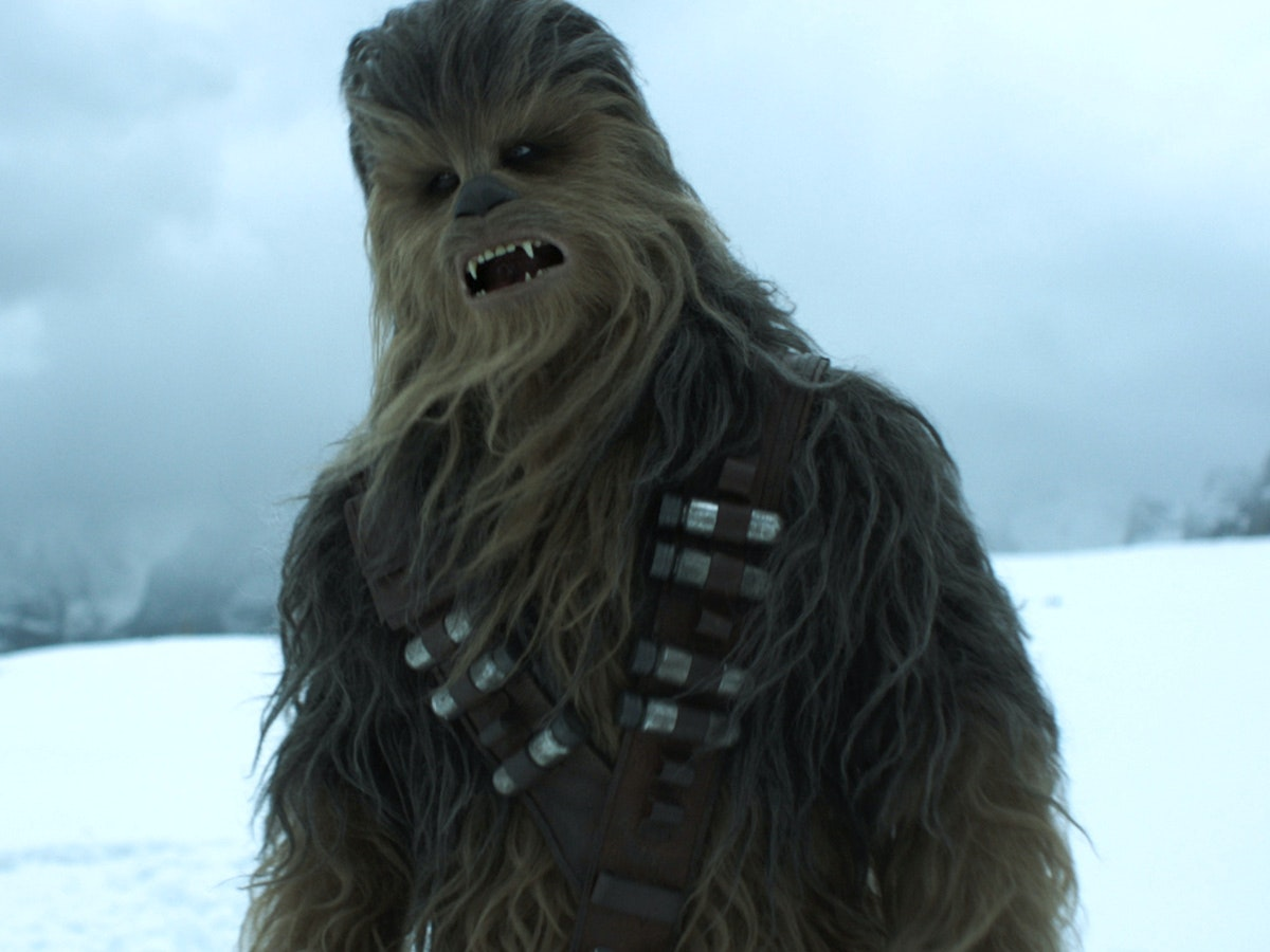 Chewbacca Is Old AF in Solo: A Star Wars Story