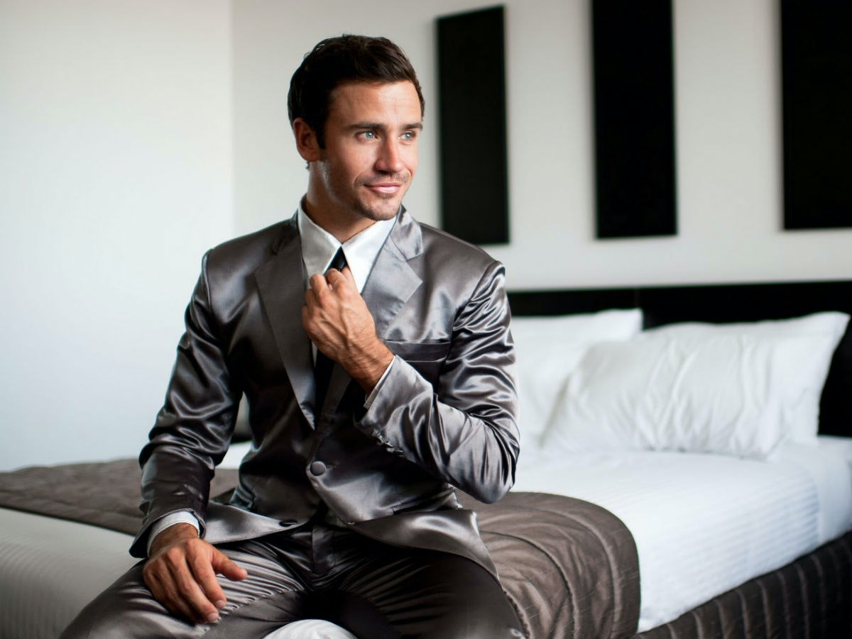 These suitjamas that unleash your inner Barney Stinson