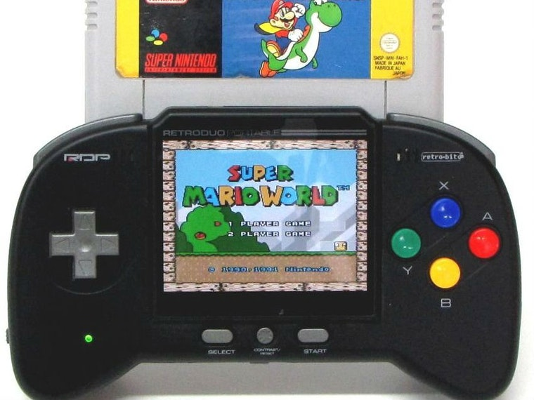 This handheld that puts your old Super Nintendo games to use