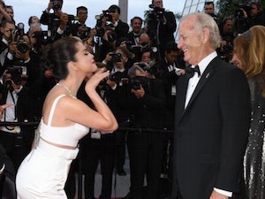 Selena Gomez Gives Love to Bill Murray at Cannes Film Festival