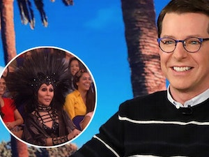 Wait... Was That Actually Cher Crashing Sean Hayes' Guest-Host Appearance on 'The Ellen DeGeneres Show'?
