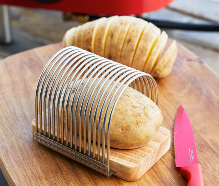 This set that makes cutting potatoes ridic easy🥔