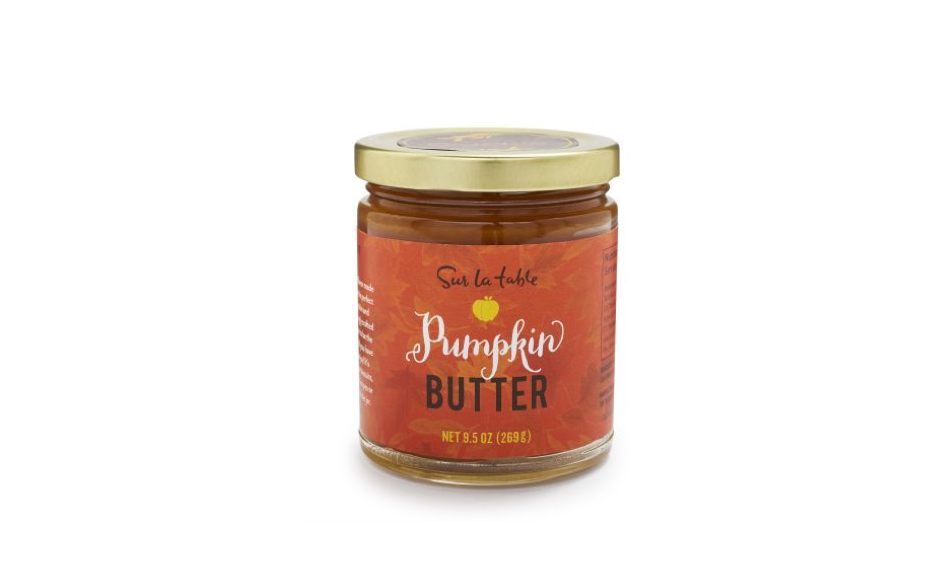 This sweet pumpkin butter spread