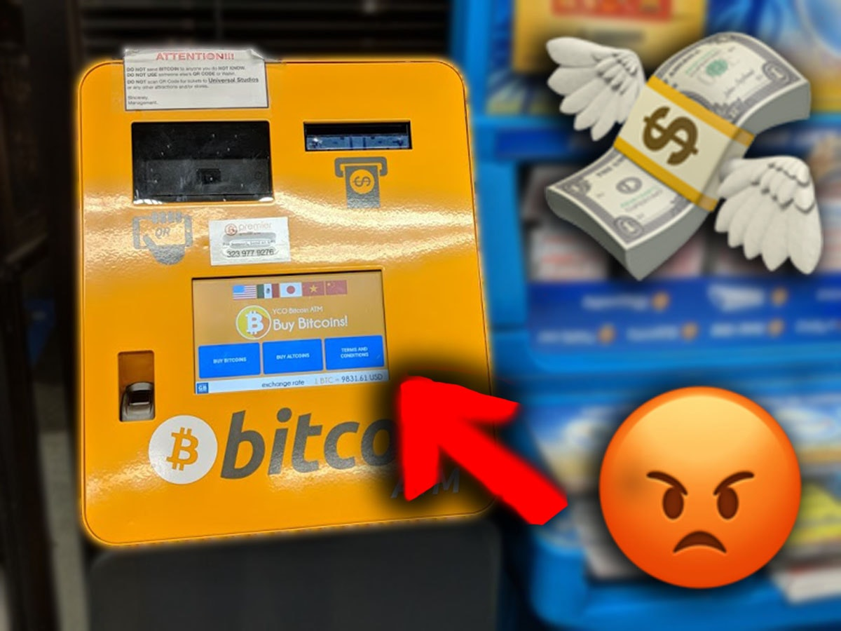 I Just Bought Bitcoin at an ATM. Never Again