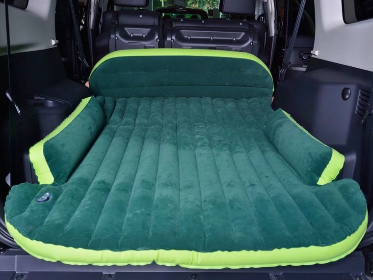 This air mattress that lets you camp anywhere you drive your SUV