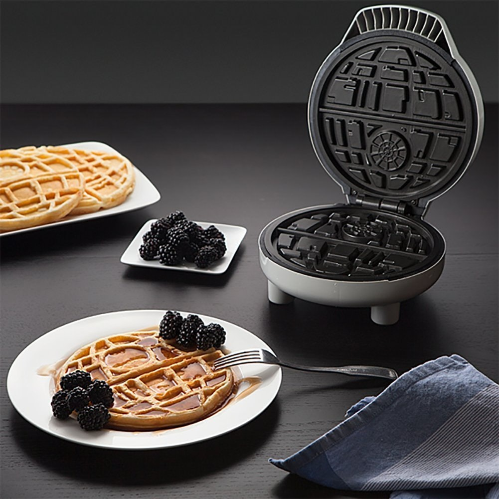 This Star Wars waffle iron that brings the Death Star to breakfast