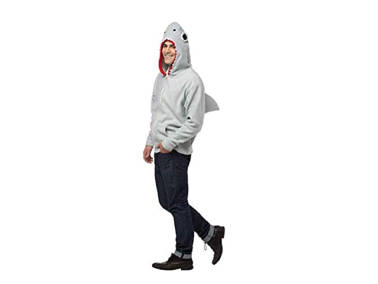 This fishy hoody that lets you live every week like Shark Week