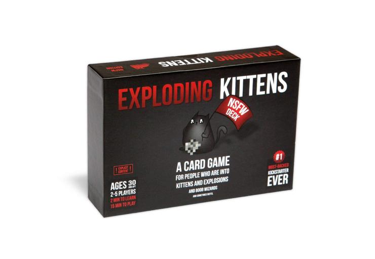 Thissuper edgy, NSFW Exploding Kittens game 💥🐱